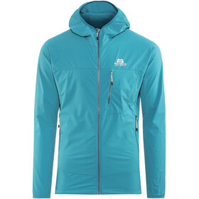 Mountain Equipment N's Echo Hooded Jacket Tasman Blue